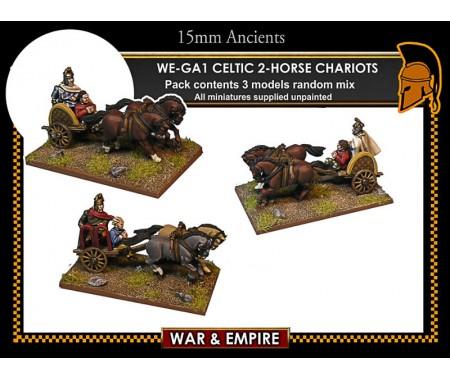 WE-GA01 Celtic 2-Horse Chariots