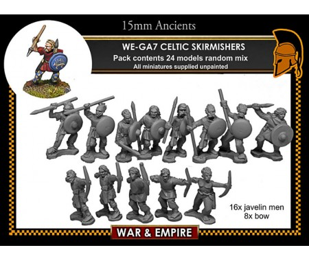 WE-GA07 Celtic Skirmishers