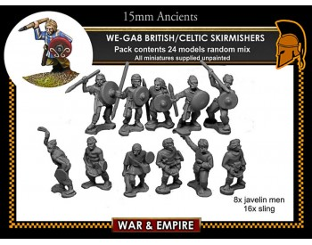 WE-GA08 Celtic/British Skirmishers