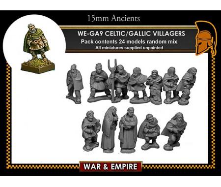 WE-GA09 Gallic Villagers