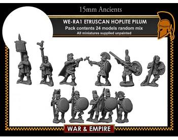 WE-RA01 Etruscan Hoplites, pilum
