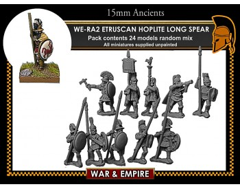 WE-RA02 Etruscan Hoplites, long spear