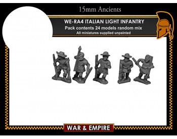 WE-RA04 Italian Light Infantry