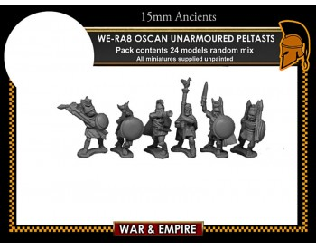 WE-RA08 Oscan Unarmoured Peltasts