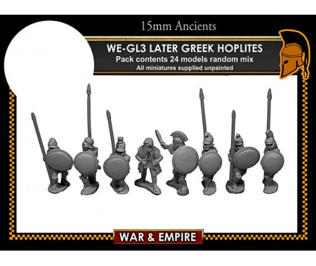 WE-GL03 Later Greek, Hoplites