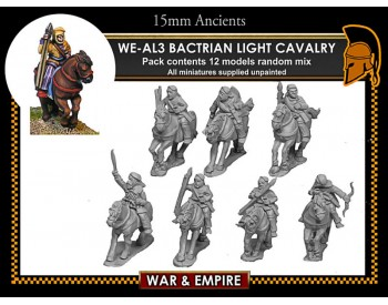 WE-AL03 Later Persian Bactrian Light Cavalry