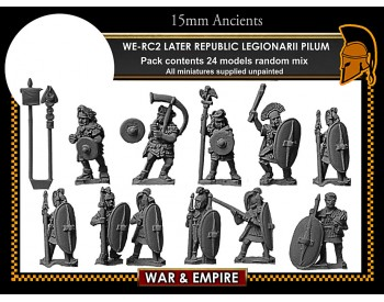 WE-RC02 Later Republican Legionarii, pilum