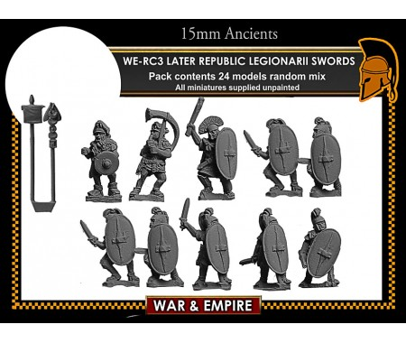 WE-RC03 Later Republican Legionarii, swords