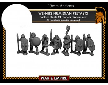 WE-NU03 Numidian Peltasts