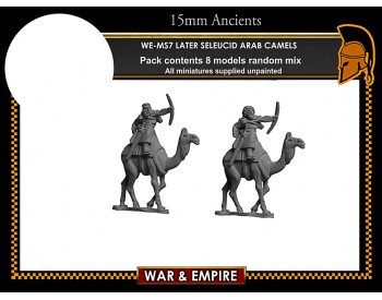 WE-MS07 Later Seleucid Arab Camels
