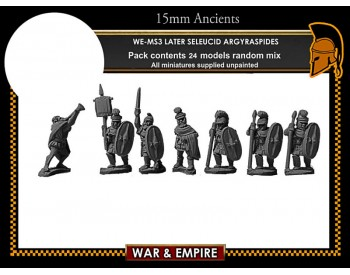 WE-MS03 Later Seleucid 'Roman' Argyraspides Infantry
