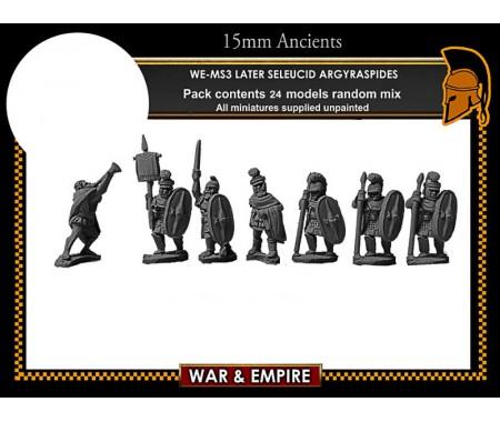 WE-MS03 Later Seleucid 'Roman' Argyraspides Infantry