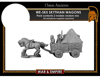 WE-SK06 Skythian 2-Horse Wagons