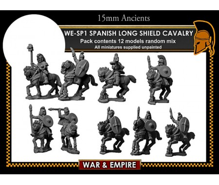 WE-SP01 Spanish Long Shield Cavalry