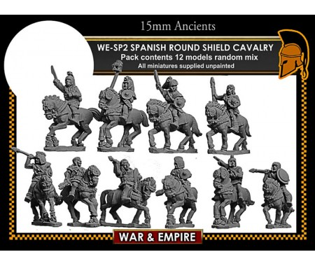WE-SP02 Spanish Round Shield Cavalry
