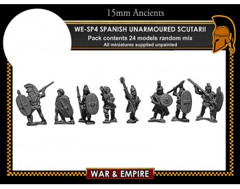 WE-SP04 Spanish Unarmoured Scutarii