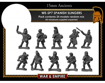 WE-SP07 Spanish Skirmishers