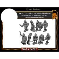 WE-A67 W & E Starter Army Spartacus Slave Revolt