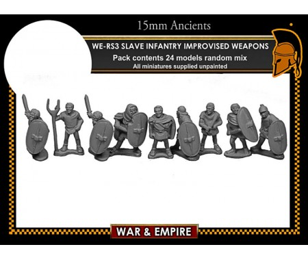 WE-RS03 Spartacus' Slave Infantry, Improvised Weapons