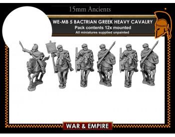 WE-MB05 Bactrian Greek Heavy Cavalry, javelins/bows