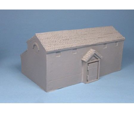 WE-F22A Roman Fort Principial HQ Building
