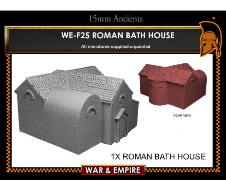 WE-F25 Roman Bath House