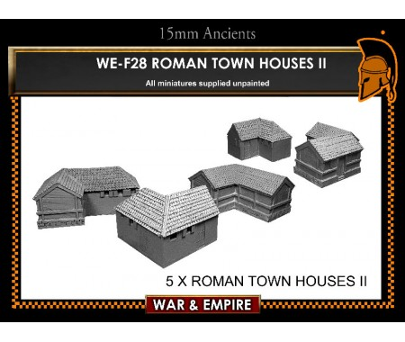 WE-F28 Roman Town Dwellings-II. corner buildings, shop