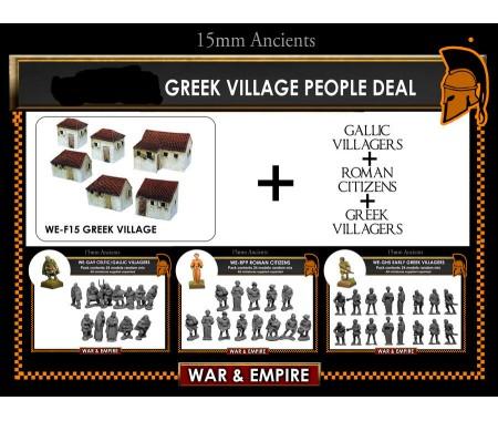 WE-SET-03 Greek Village People