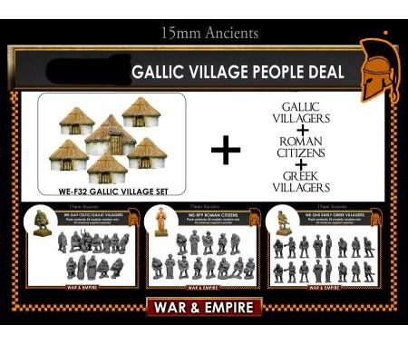 WE-SET-01 Gallic Village People