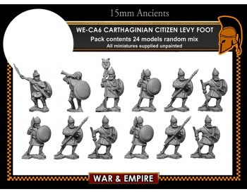 WE-CA06 Carthaginian Citizen Levy Foot