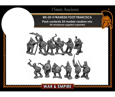 WE-GF04 Frankish Foot, Francisca