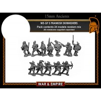 WE-GF05 Frankish Skirmishers