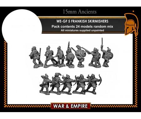 WE-GF05 Frankish Skirmishers