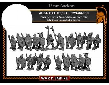 WE-GA10 Celtic and Gallic Warband-II