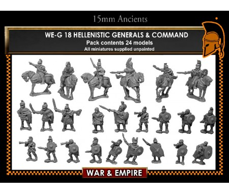 WE-G18 Hellenistic Officers and Generals