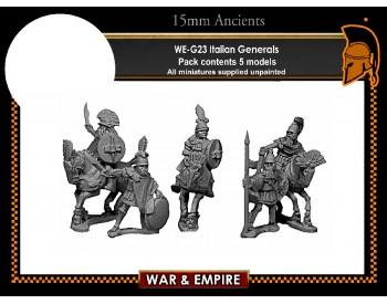 WE-G23 Italian Generals