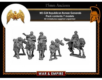 WE-G24 Republican Roman Generals