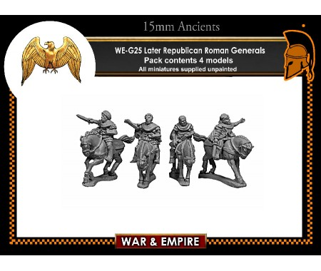 WE-G25 Later Republic Roman Generals