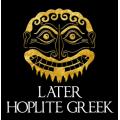 Later Hoplite Greek