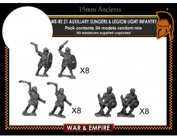 WE-RE21 Auxiliary Slingers & Legionary Light Infantry