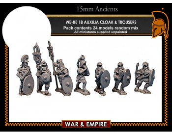 WE-RE18 Auxilia, cloak and trousers