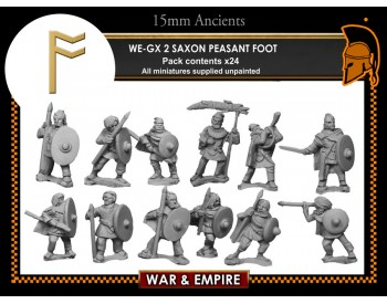 WE-GX02 Saxon Peasant Foot