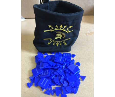 WE-X06BLUE Dice/Token Bag