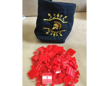 WE-X06RED Dice/Token Bag