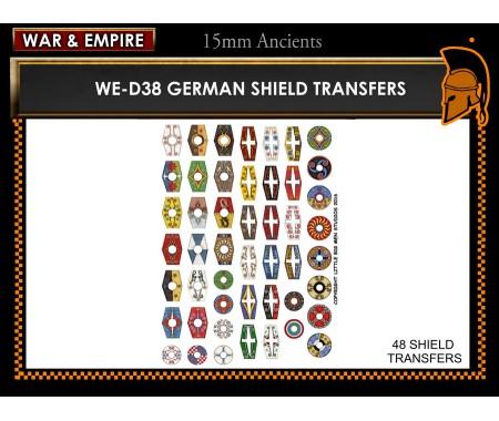 WE-D38 German shields