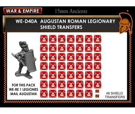 WE-D40A Roman Legionaries – Augustan (type 2)