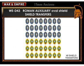 WE-D43 Roman Auxiliaries, oval shields  (type 1)